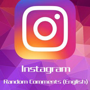 Instagram Random Comments